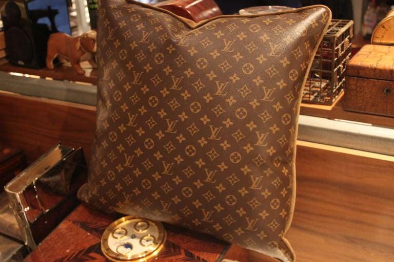 Large Louis Vuitton Throw Pillows 3