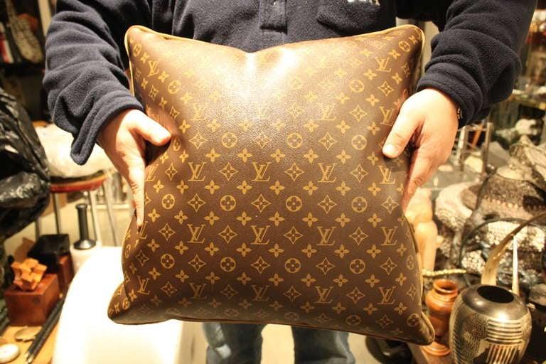 Large Louis Vuitton Throw Pillows 6