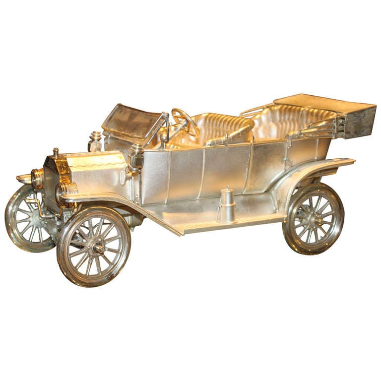 Ford Car Solid Sterling Silver Antique