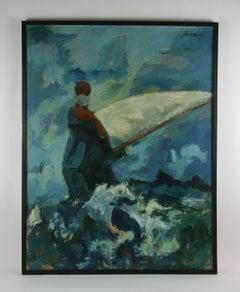 Sailing Abstract Painting