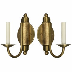 ON SALE Pair of French Deco Sconces