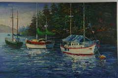 Sailing Boats Painting