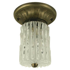 Murano Glass Flush Mount(2 available)