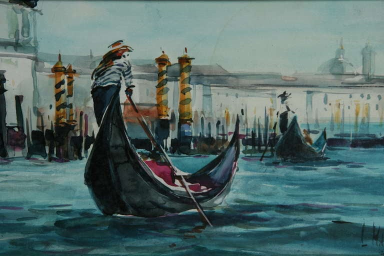 gondoliers paint essay Essays on the power of painting  with gondoliers rowing above their own reflections past reflected buildings, is an ancestor of whistler's battersea bridge.