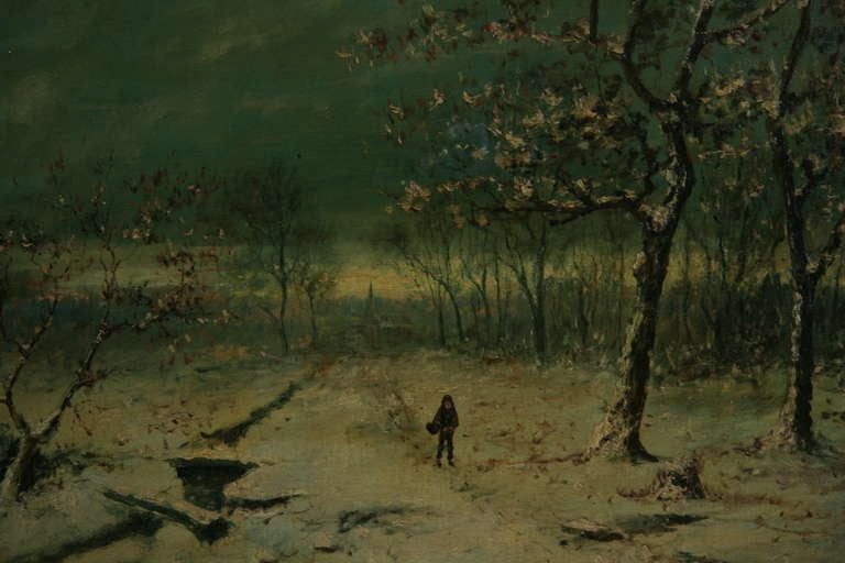 """Walking Home"" Painting 2"