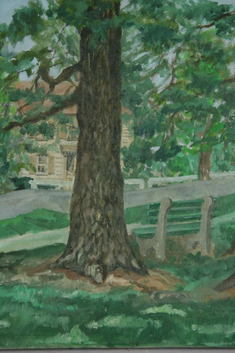 """""""Through the Trees"""" Painting 3"""