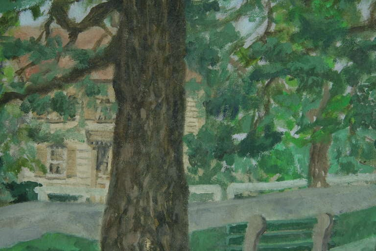 """""""Through the Trees"""" Painting 2"""