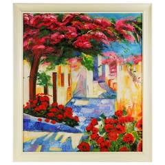 5-2627Positano Italy Painting