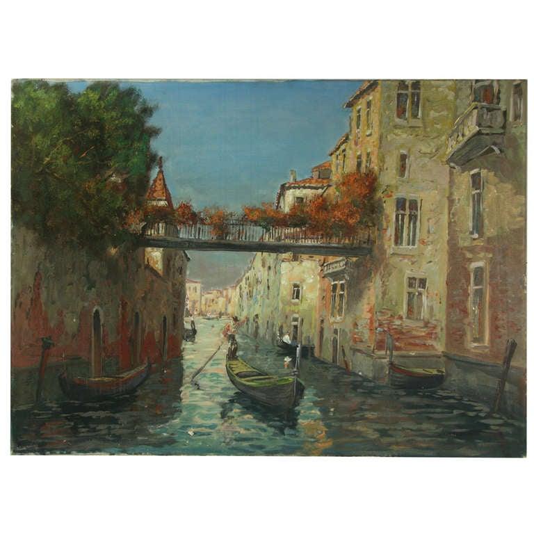 Phillips Manor Ny: Gondola In Venice At 1stdibs