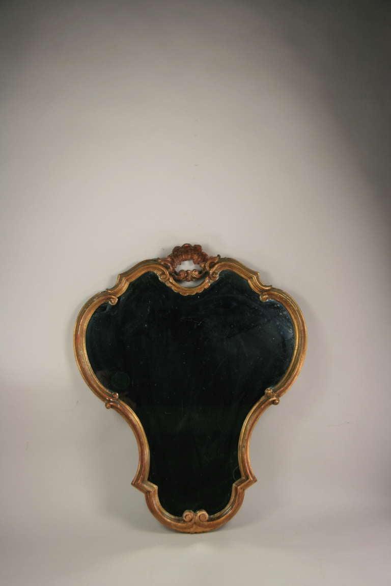 Venetian Italian Mirror In Good Condition For Sale In Douglas Manor, NY