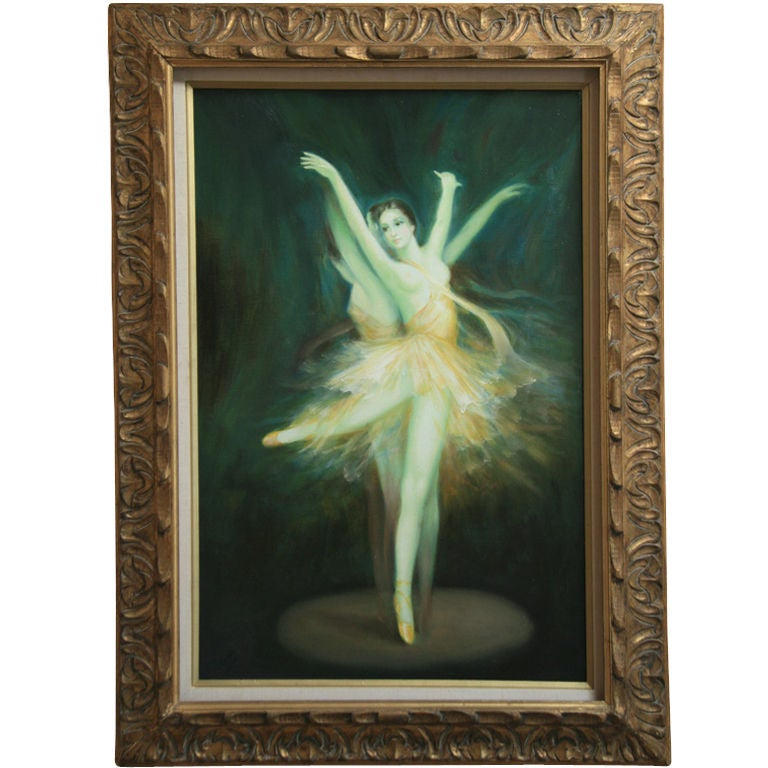 Ballerina Original Oil Painting