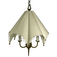 Mid Century Umbrella Four-Light Fixture