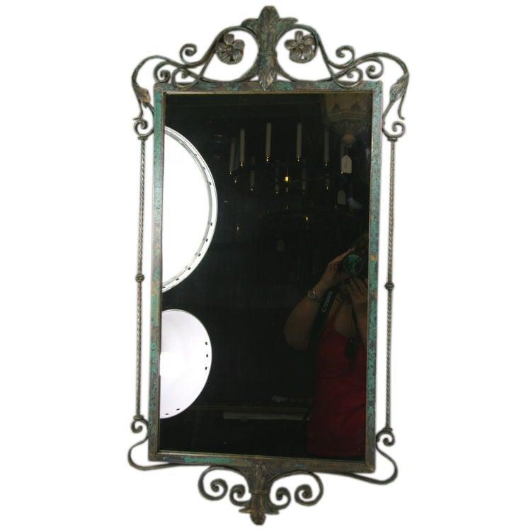 Verdigris Italian Mirror 1