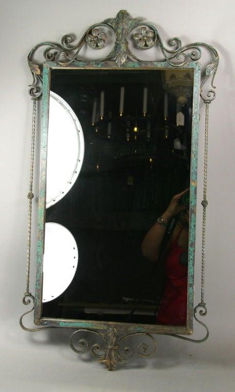 Verdigris Italian Mirror 2