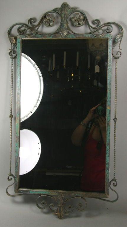 Verdigris Italian Mirror 3