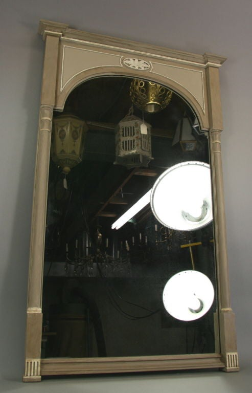 Neoclassical Painted Mirror 'View Large Assortment of Mirrors' 4