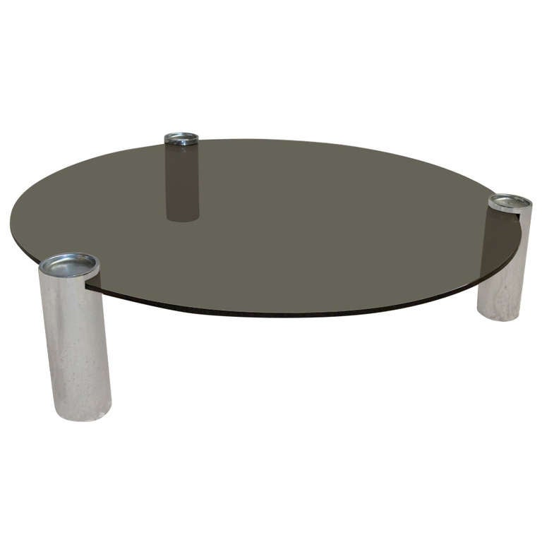1970's Round Coffee Table