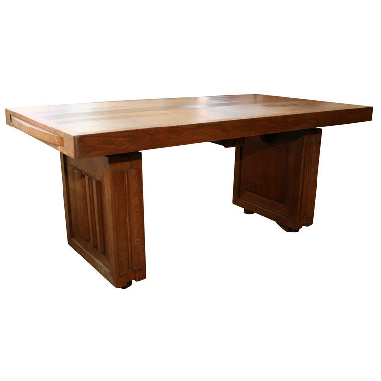 Charles Dudouyt Dining Table For Sale