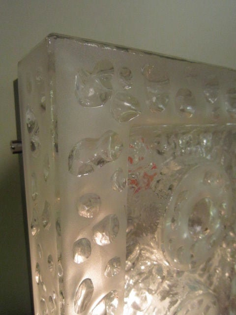 Glass Wall Sconce For Sale 1