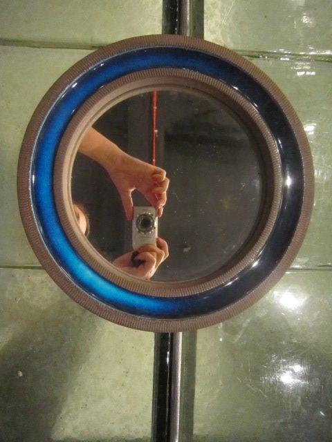 Ceramic knabstrup ceramic blue mirror