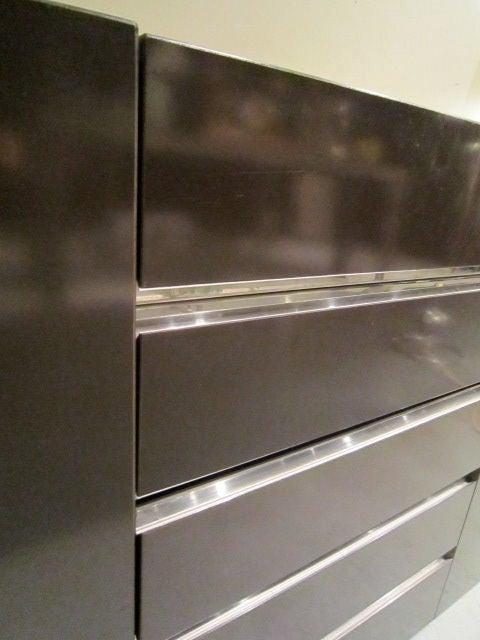 Brown Laminate Cabinets : Brown laminate cabinet for sale at stdibs