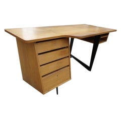 Claude Vassal Oak Desk