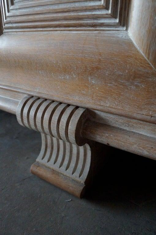 Cerused Oak Dining Set For Sale 2