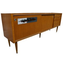 Cabinet with Ceramic Inlay