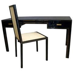 Pierre Vandel Desk with Matching Chair
