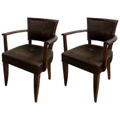 Pair of 1930s Bridge Chairs