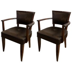 Pair of 1930s Bridge Chairs