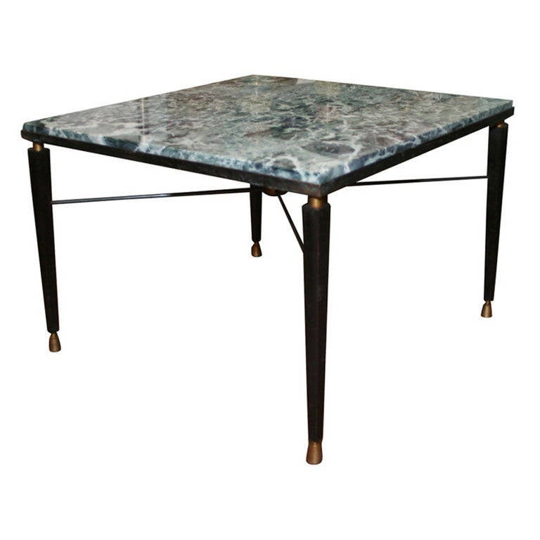 Marble Coffee Table For Sale Singapore: Square Marble Coffee Table For Sale At 1stdibs