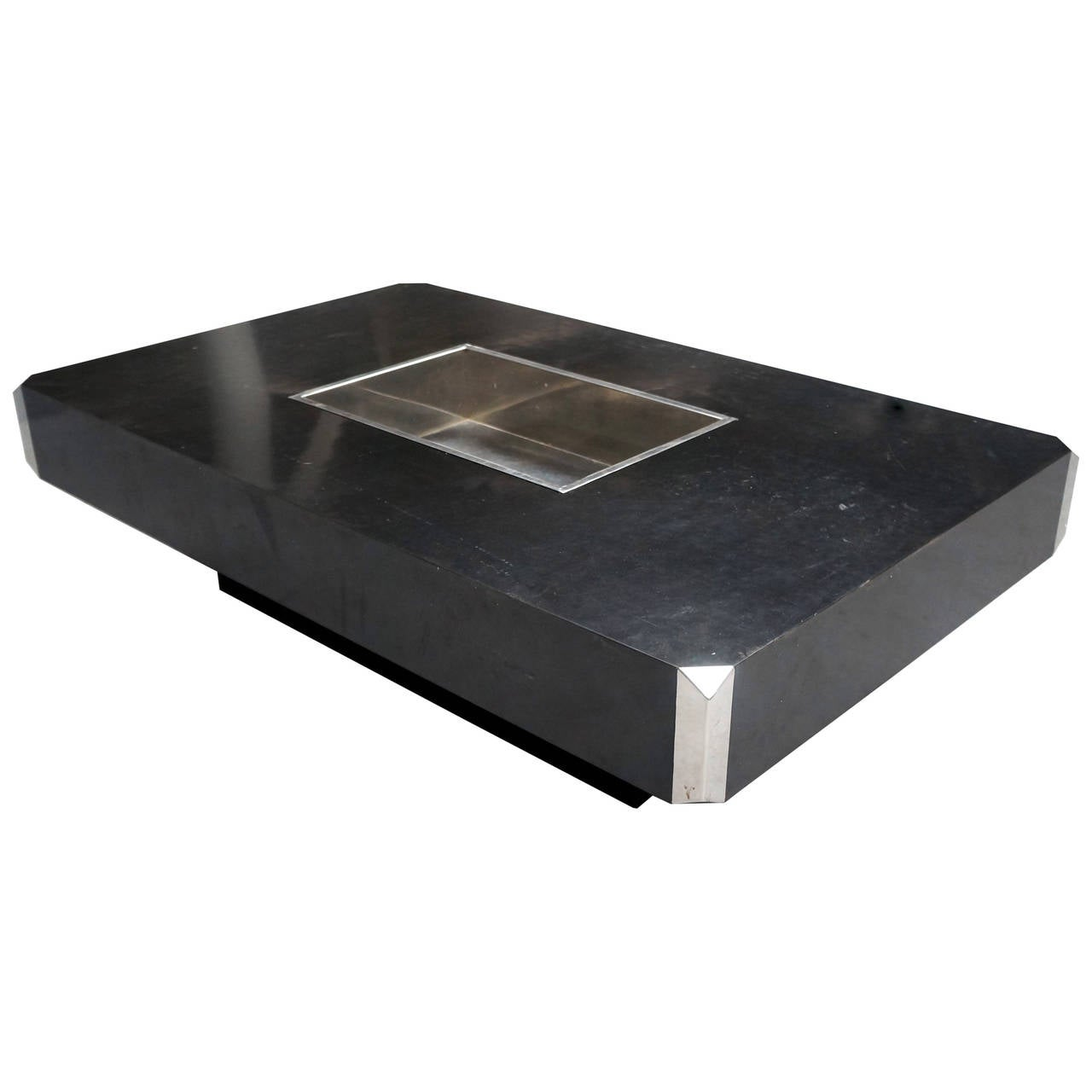 Willy rizzo coffee table for sale at 1stdibs for Table willy rizzo
