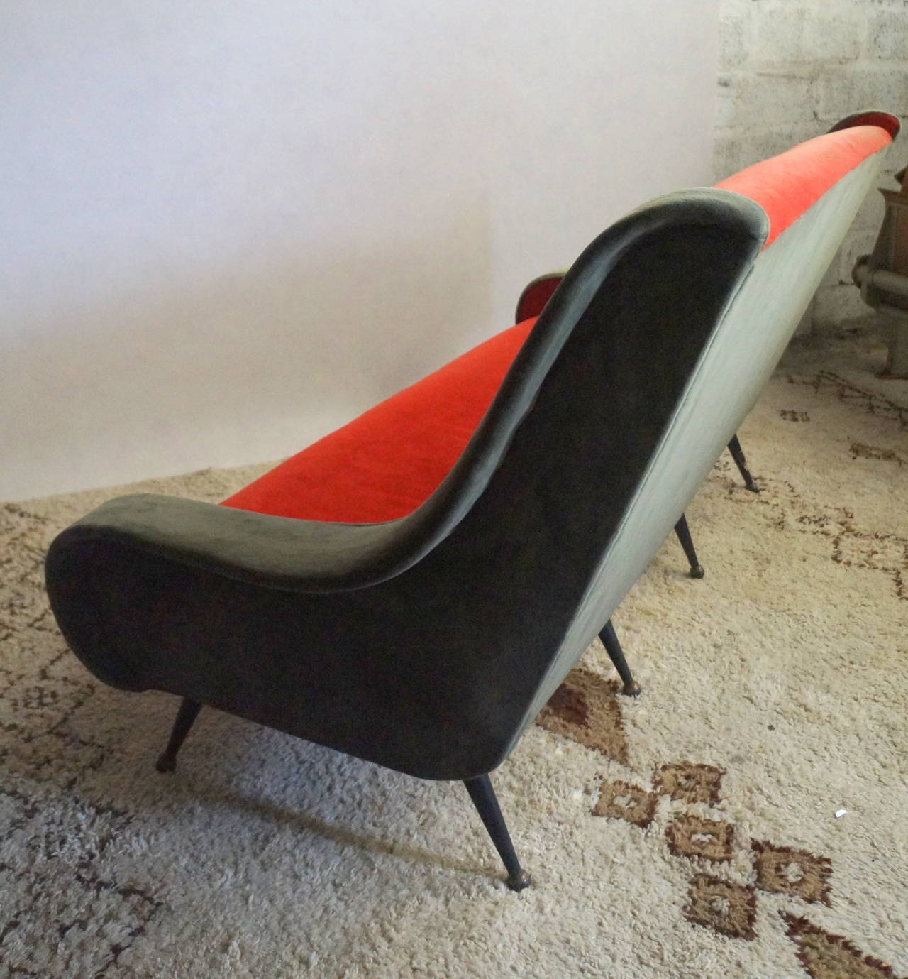 French 1950s Sofa For Sale