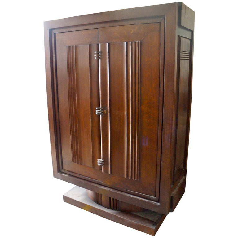 Charles Dudouyt Armoire For Sale