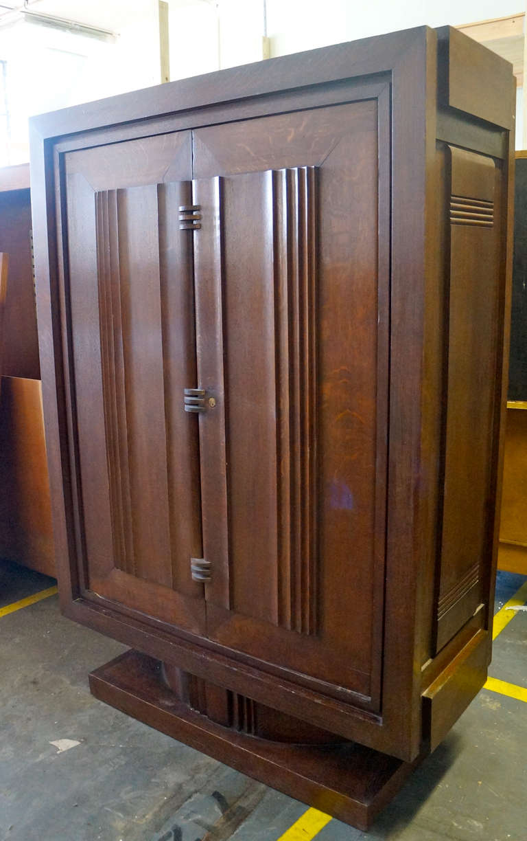 French Charles Dudouyt Armoire For Sale