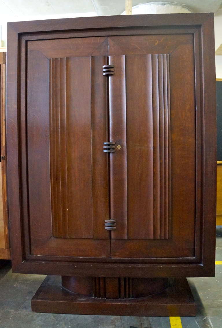 Charles Dudouyt Armoire In Good Condition For Sale In Brooklyn, NY