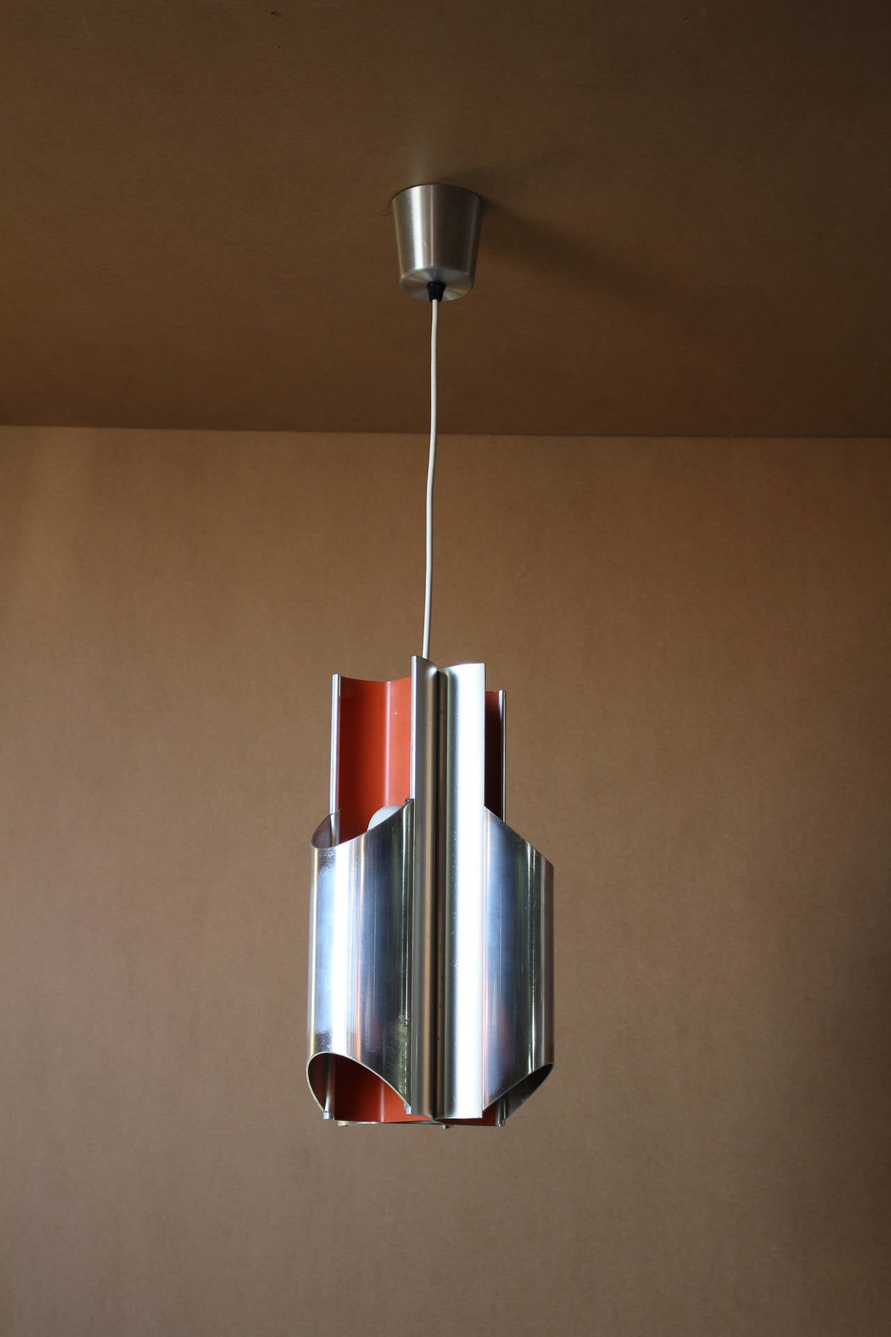 A 1960s Danish Pendant by Bent Karlby for Lyfa For Sale 4