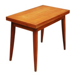 French 1950s Folding Table by Roger Landault