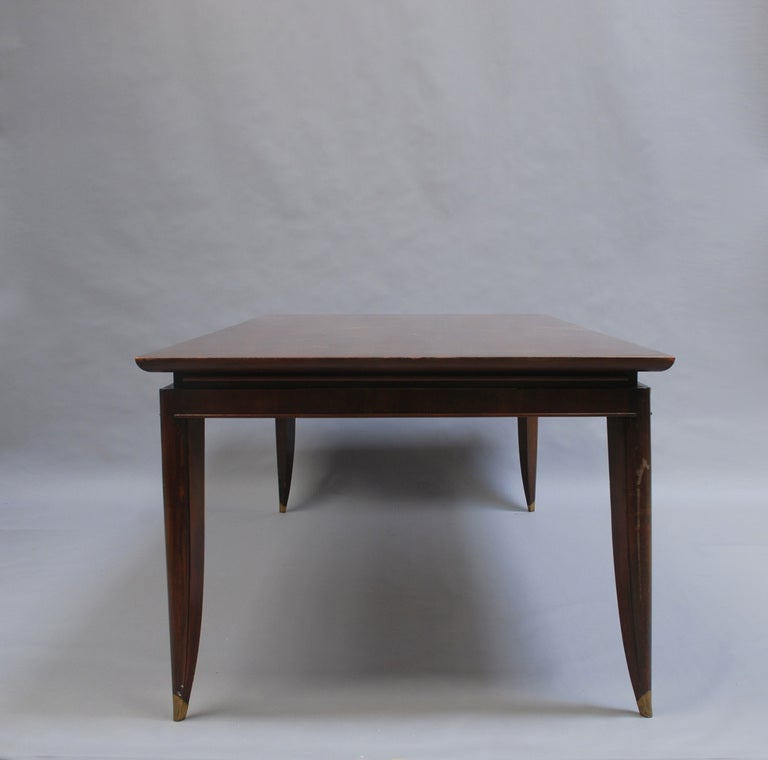 Large French Art Deco Dining Table At 1stdibs