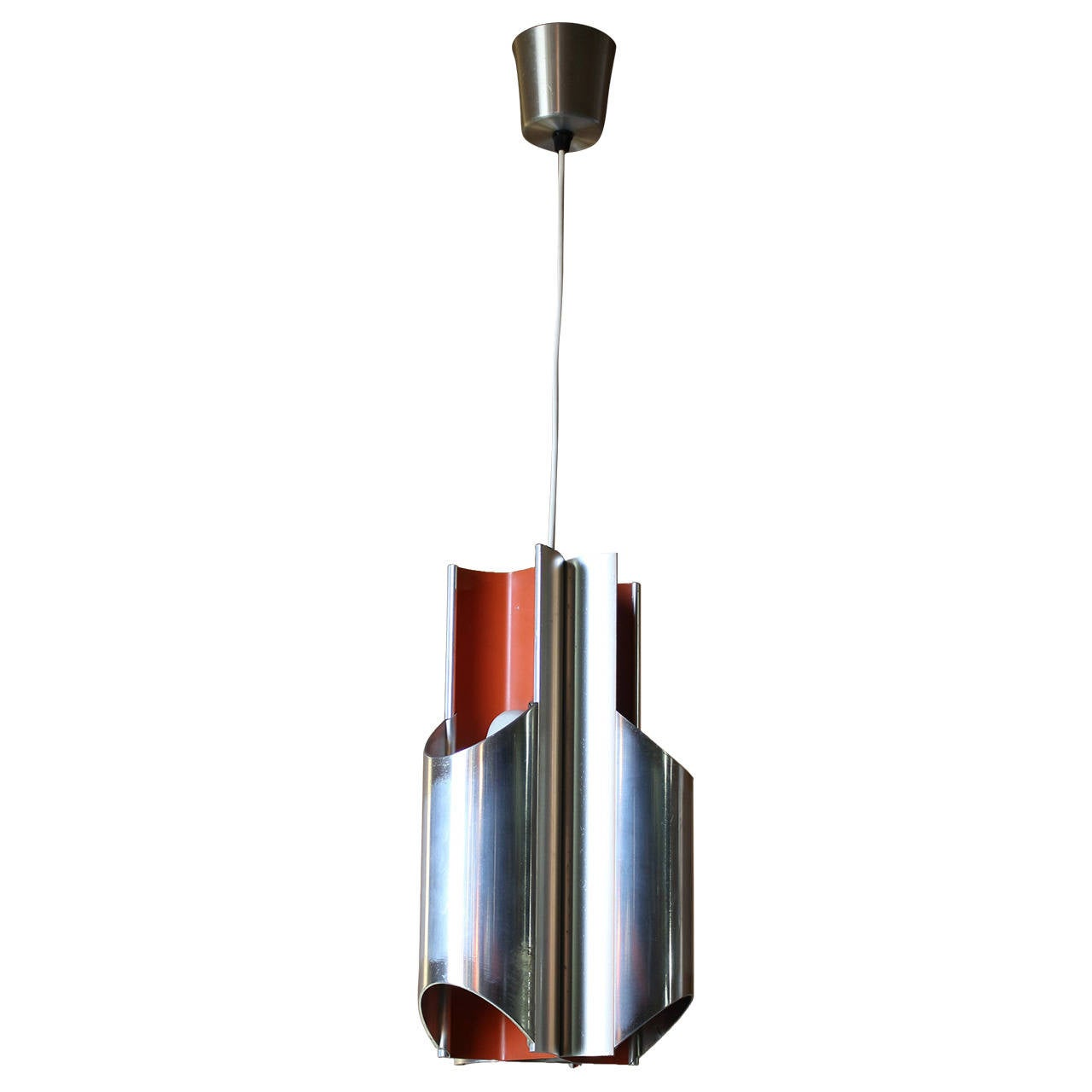 1960s Danish Pendant by Bent Karlby for Lyfa