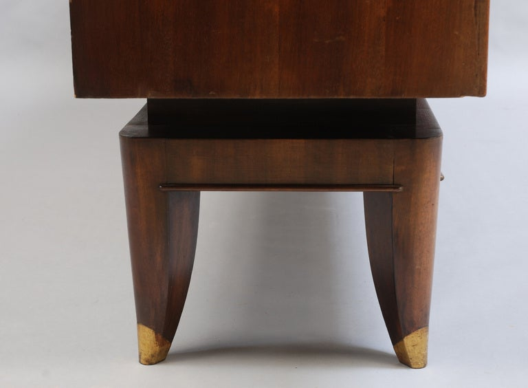 French Art Deco Sideboard with Parchment Details 5