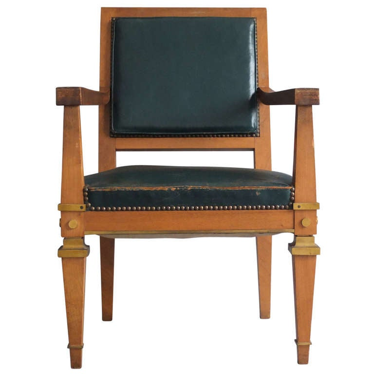 french art deco desk chair attributed to arbus at 1stdibs art deco office chair