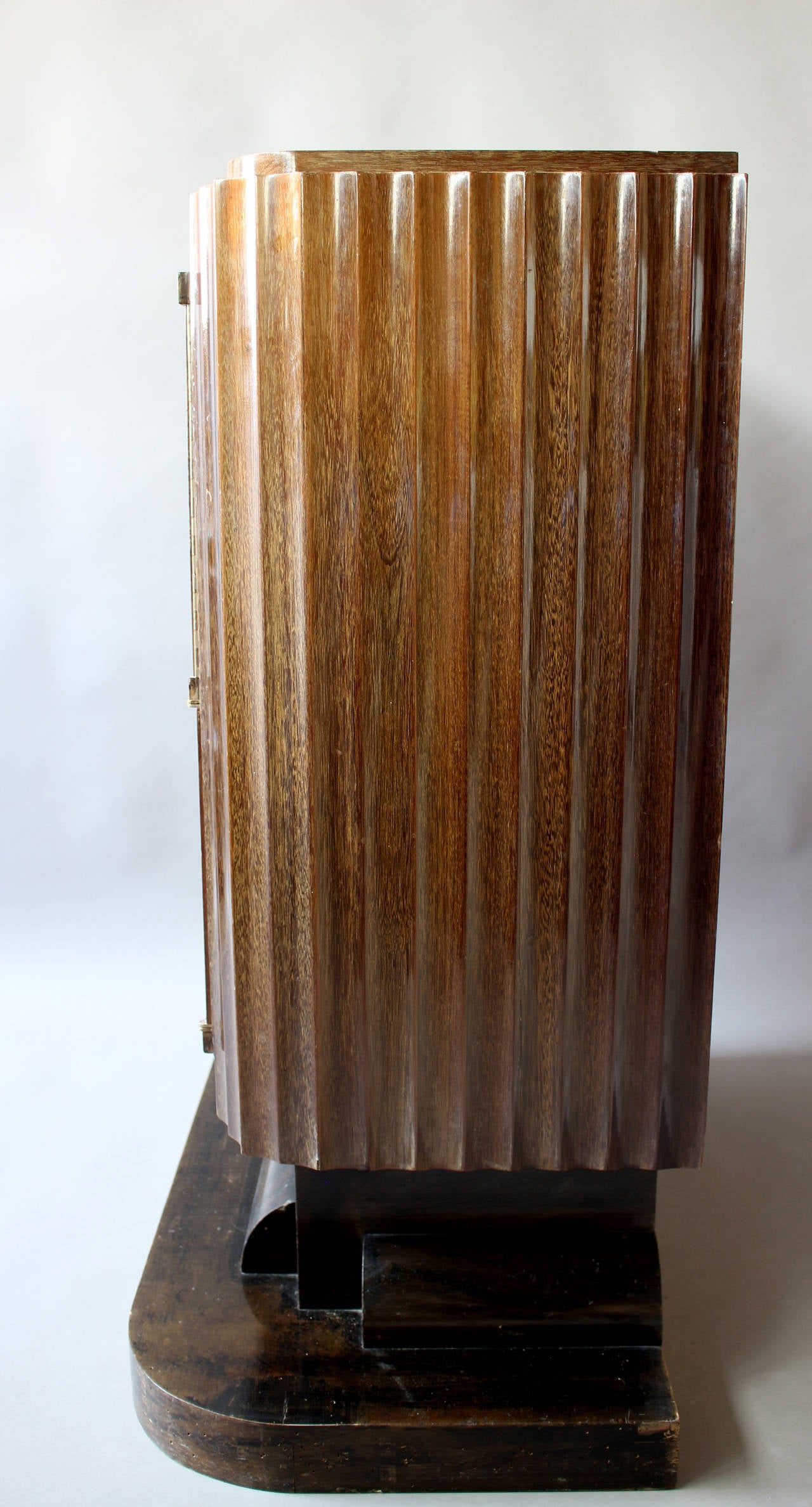 A Fine French Art Deco Silverware Cabinet by Christian Krass For Sale 2
