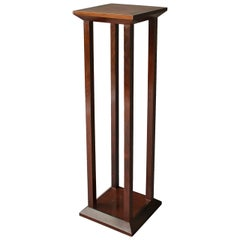Fine French Art Deco Mahogany and Palisander Pedestal