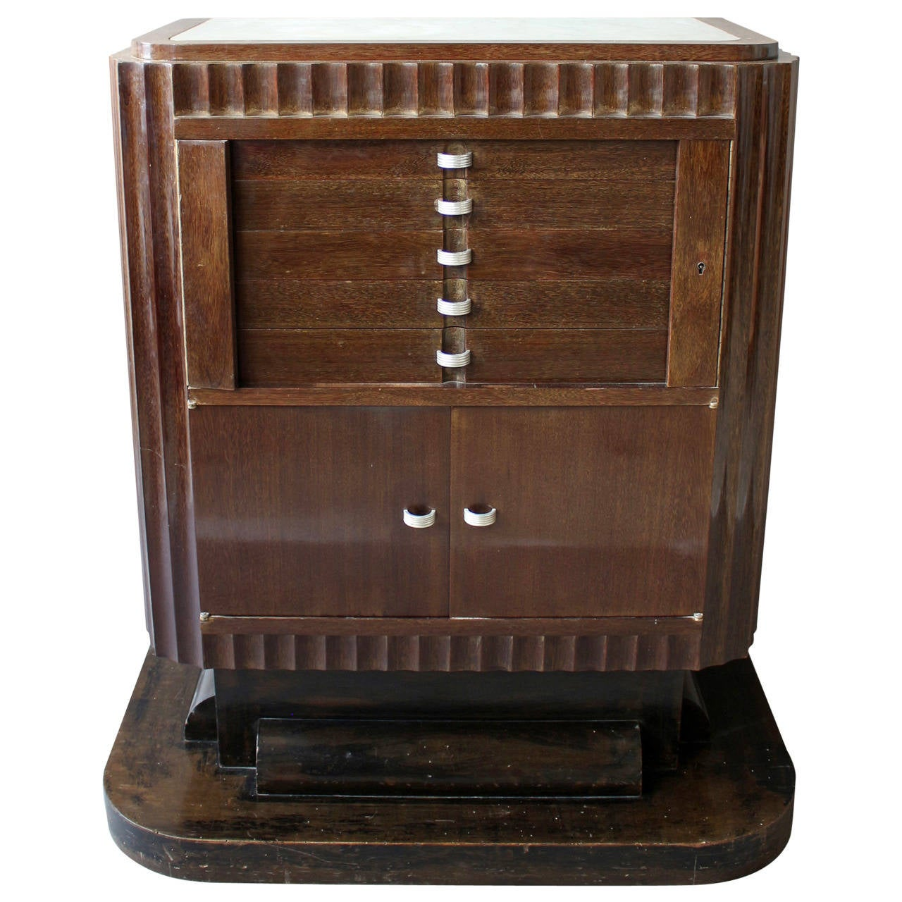 Genial A Fine French Art Deco Silverware Cabinet By Christian Krass For Sale