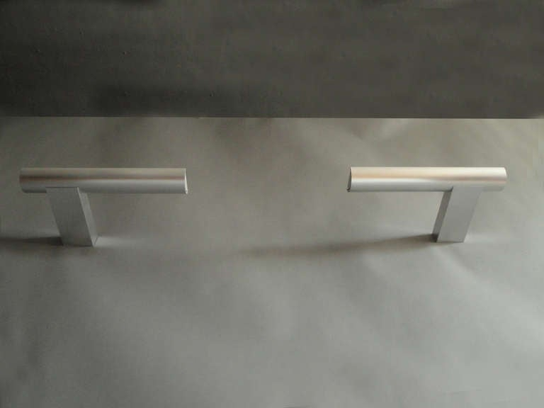 Modern 10 Fine French 1970's Sconces by Cesar Putzeys For Sale