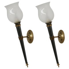 Pair of French 1950s Sconces