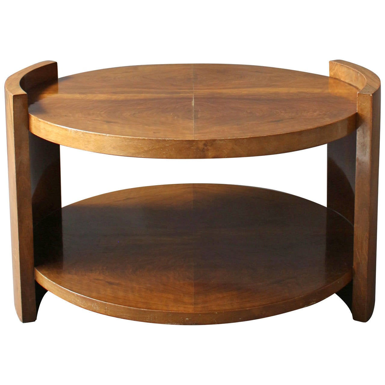 Large French Art Deco Coffee Table Or Gueridon At 1stdibs