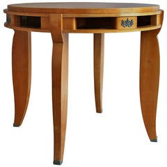 Fine French Art Deco Cherry Gueridon